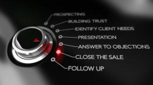 Sales Process, Closing Skills, New Sales Leader focus on Skills